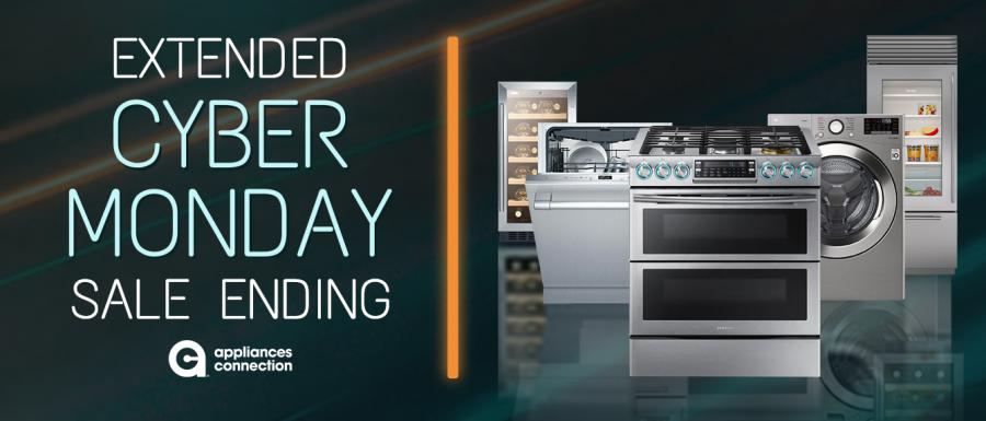 Extended Appliances Connection 2019 Cyber Monday Sale: Banner
