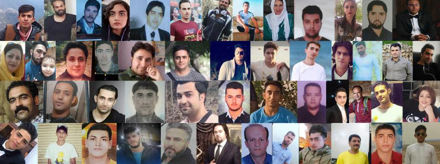 Names of 31 more martyrs of the November 2019 nationwide uprising - 755 victims have been identified so far