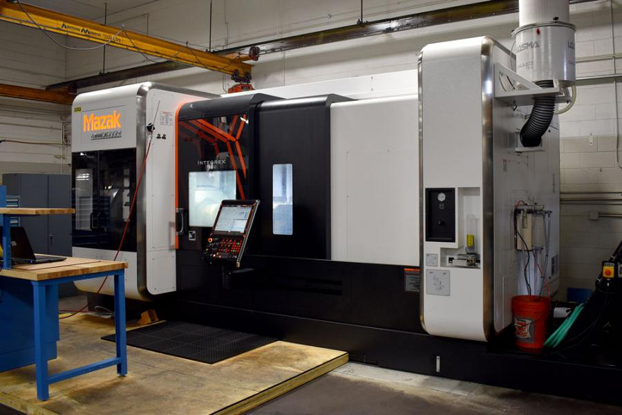 New Mazak Integrex i-400 5-Axis Machining Center Installation at Trace-A-Matic North