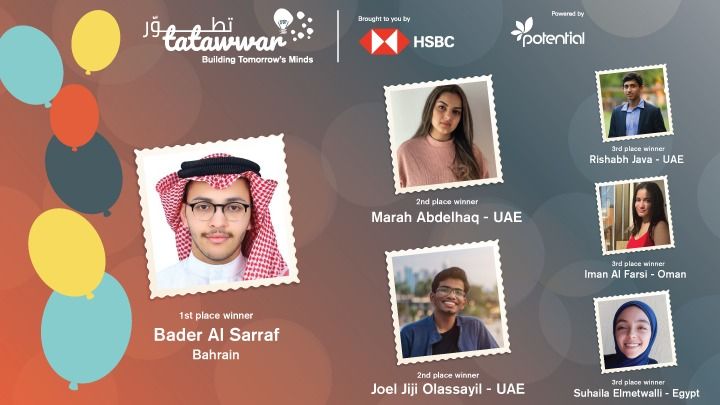 6 Tatawwar winners announced during online awards ceremony taking home cash and support