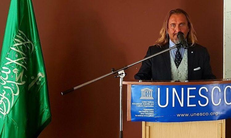 Thierry Rayer à l'UNESCO