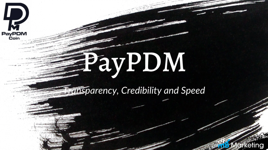 PayPDM is a platform that brings transparency, credibility and speed to traditional financing with the use of blockchain technology.