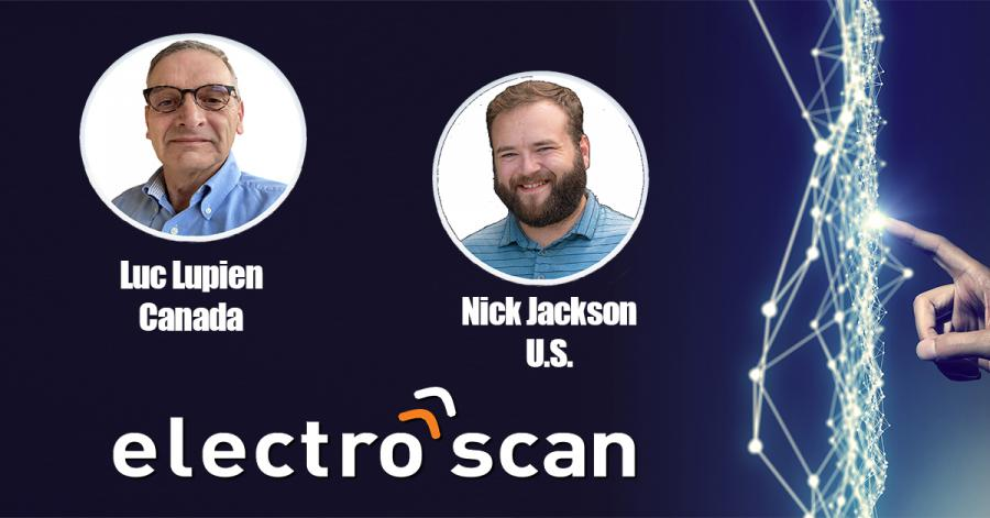 Electro Scan Inc. is pleased to announce the addition of Luc Lupien (CANADA) and Nick Jackson (U.S.) Business Development executives.