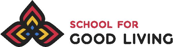 School for Good Living Logo