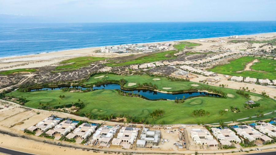 Diamante Cabo San Lucas Aerial of Golf Villas