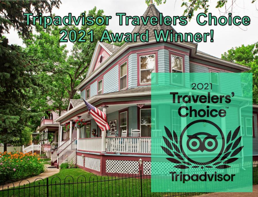 Holden House has received the coveted Tripadvisor Travelers' Choice Award in 2021