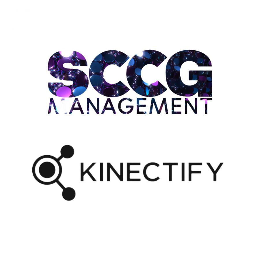 SCCG Management and Kinectify Logos