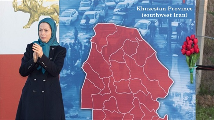 July 18, 2021 - Iran protests for water - Mrs. Maryam Rajavi, the President-elect of the National Council of Resistance of Iran (NCRI), saluted the arisen people of Ahvaz and Khuzestan Province who, in dire need of water and freedom, have come to the stre