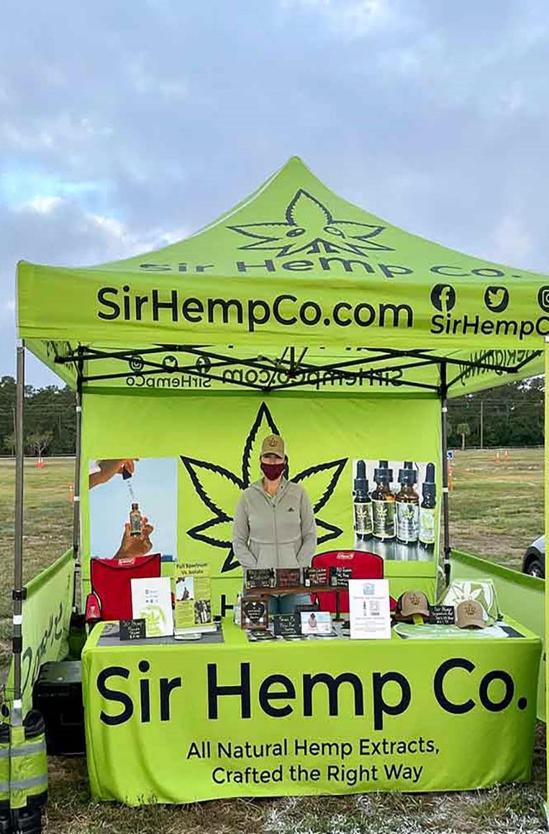 Sir Hemp Co. to attend West Palm Beach Farmers Market- 2021-2022 Season