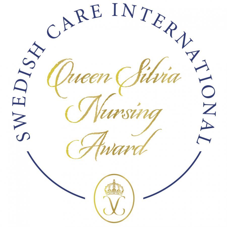 queen silvia nursing award logo