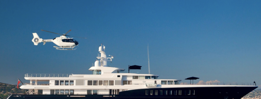 Cabo Platinum Yacht and Helicopter