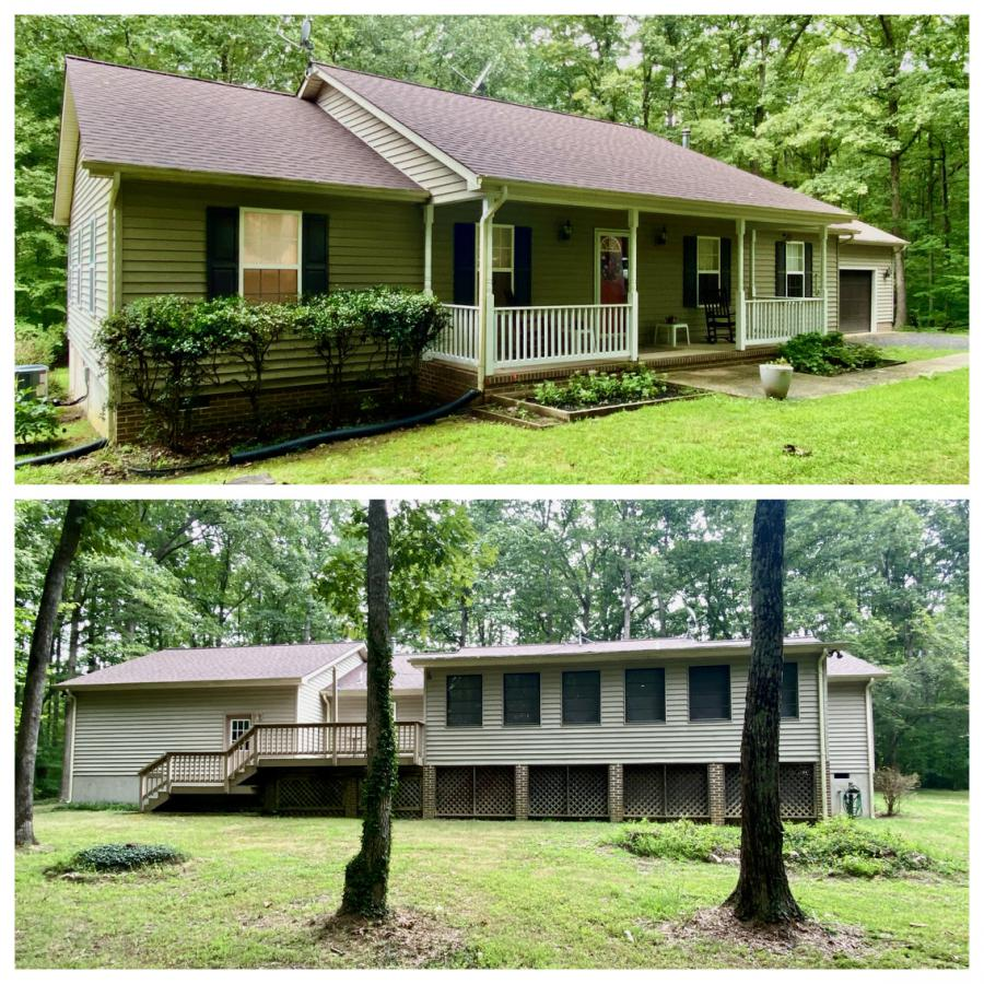 1,620 sq. ft. 3 bedroom/2 bath home on 2.48± acres with a 720± sf. attached 2 car garage