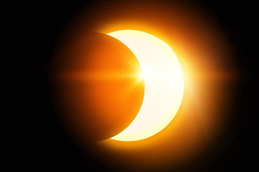 Eclipse parcial del sol