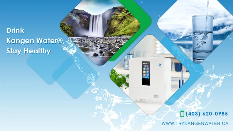 Try Kangen Water - Serving Calgary, Edmonton, Vancouver, Burnaby & More