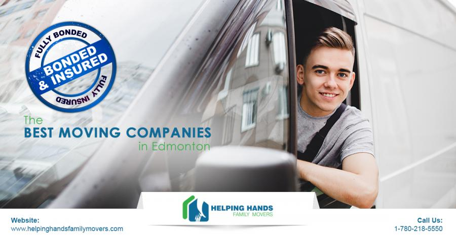 Helping Hands Family Movers - Bonded & Insured Edmonton Movers