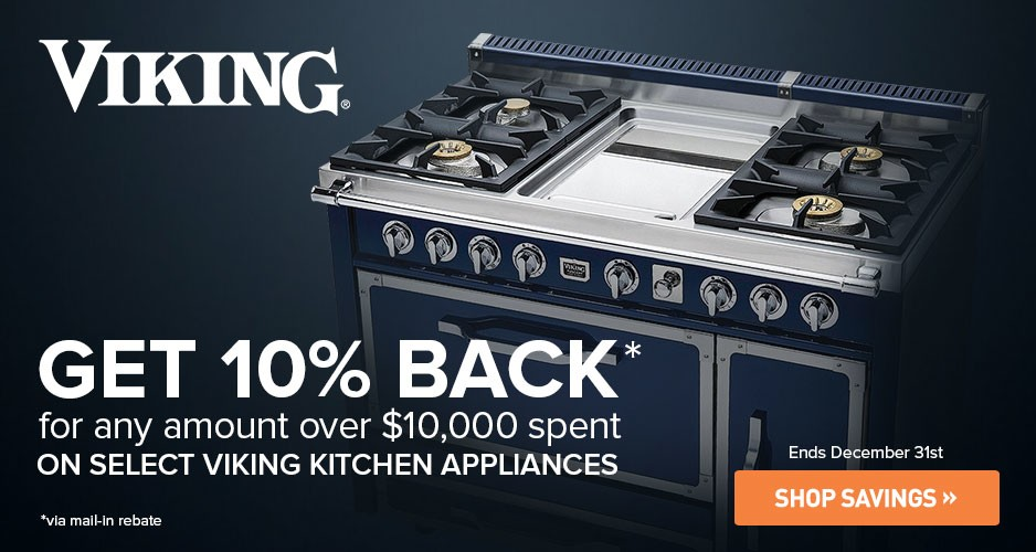 New and Improved Viking Ranges Now on Sale at Appliances ...