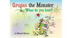 Grogan the Monster by Rich Mclean Children's Book - Front Cover