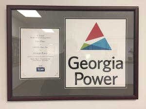 Award Winning Fleet Decal for Georgia Power Designed and Manufactured by LEM Products, Inc.