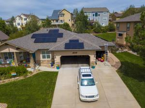 Sunfinity designed and installed this solar system for a Colorado homeowner.