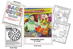 Educate children and adults on covid-19 coronavirus book