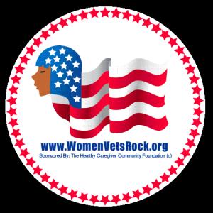 Women Veterans ROCK! logo and website (www.womenvetsrock.org)