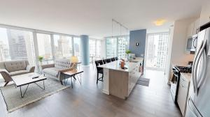 Suite Home Furnished 2-Bedroom Apartment at Marquee at Block 37 Downtown Chicago