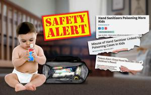 Hand Sanitizers with Child Resistant Bottles