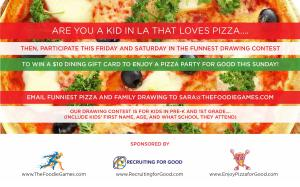 Yes, France has Le Mans...But LA has a 24 Hour Pizza Drawing Contest