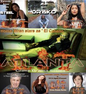 LIT ATLANTA crime drama series full cast