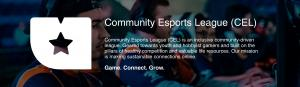 Community Esports League registration is now open. First league season starts July 6th. Visit uea.gg/cel to learn more.