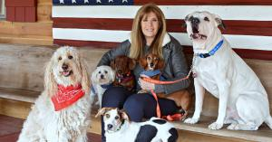 """Jill Rappaport, host of """"Rappaport To The Rescue"""" on Pet Life Radio"""