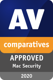 AV-Comparatives Mac Test and Review 2020 Certificate