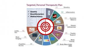 Diagram describes contents of the  Affirmativ Health Personal Therapeutic Plan
