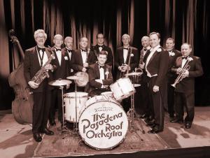 Photo of the Pasadena Roof Orchestra at Potsdam