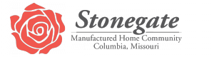 Stonegate manufactured home community logo