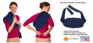 Sunny Bay  Heating Wraps, pain relief, heating pad, moist heat, microwavable hot and cold compress
