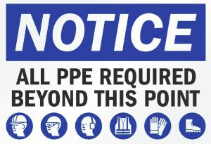 PPE required by most offices