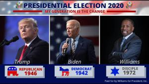 Independent, Trump and Biden