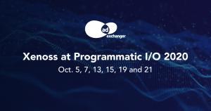 Xenoss at Programmatic I/O 2020