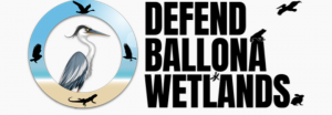 Defend the Ballona wetlands logo