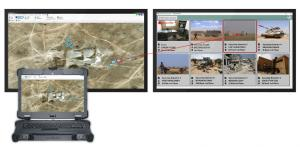 Command Handheld Tablet PC Echelon Tactical 5G PTT Video Message Chat Interoperability JVMF Satellite Radio