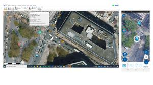 spatial imagery navigation touch 5G PTT Video Satellite