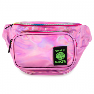 Waist Bag Party Pack in Disco Pink   Dime Bags   Fanny Pack  Holographic pInk