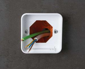 SMART-PANEL fits to flush wall boxes