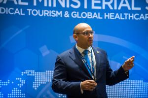 Dr Angus Friday speaks at the 2014 Global Ministerial Summit