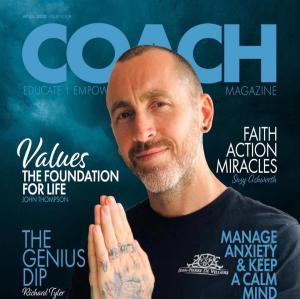 Jp De Villiers cover of coach magazine