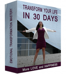 30 Day Life Transformation Program by Veronica Parks, Soul Healer, Wellness Coach and Founder of VP Exclusive.  It helps people release negative emotions from the past and live out the purpose of their life.