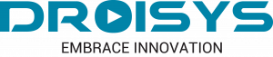 A logo of Droisys is shown with its tagline Embrace Innovation.