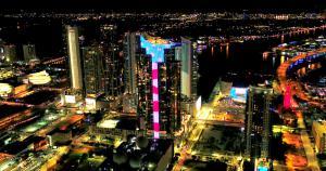 Paramount Miami Worldcenter - Bryan Glazer World Satellite Television News