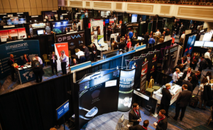 The Cyber Solutions Exhibition Ballroom at the official New York Cyber Security Summit